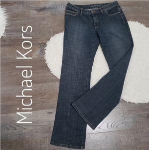 Michael Kors boot cut jeans. Sharp looking Jean's.